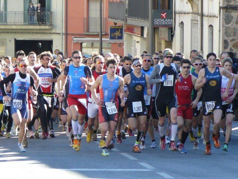L'equip de triatló realitza una fantàstica actuació en el Campionat Nacional Absolut de Catalunya, a una prova de pujar a 1a Divisió Catalana