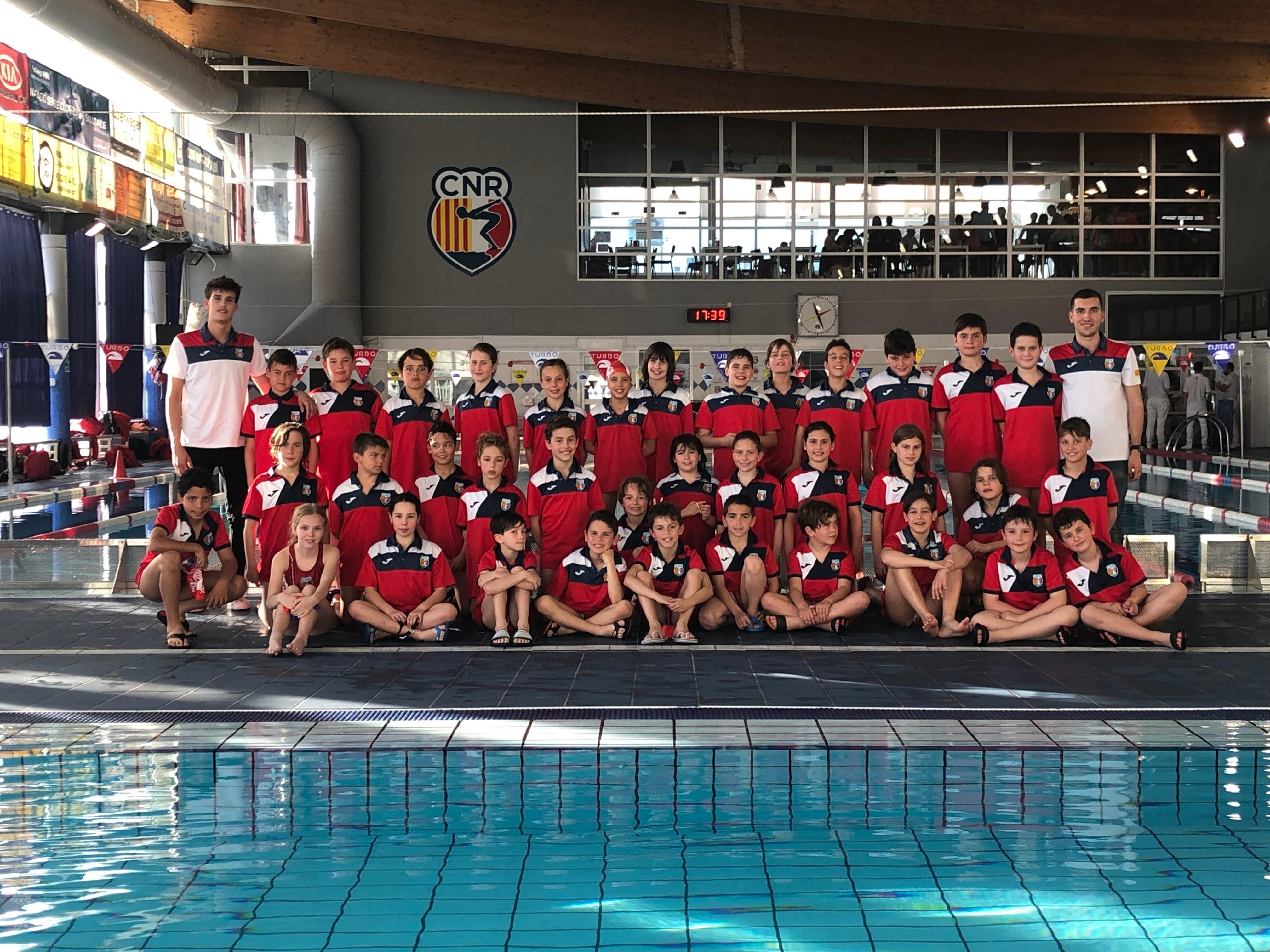 Més de 100 nedadors/es es desplacen al Club Natació Rubí per disputar la 6a jornada de la lliga catalana benjamina i 4a pre-benjamina
