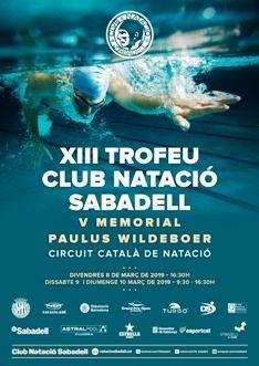 Sabadell acull una nova cita del Circuit Català de Trofeus, amb representació del CN Rubí