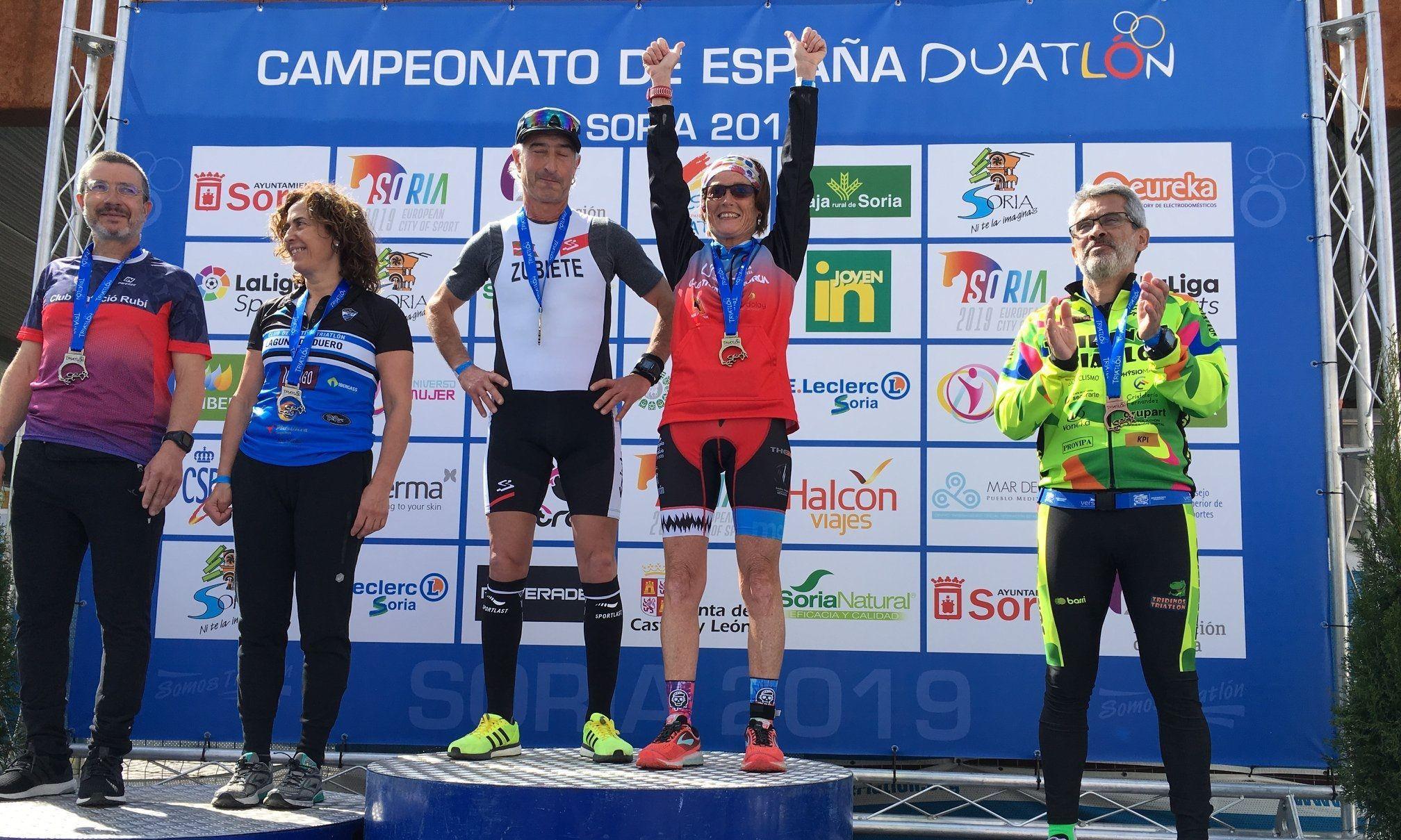 Ricard Valenzuela es proclama subcampió d'Espanya per grups d'edat en el Campionat d'Espanya de Duatló