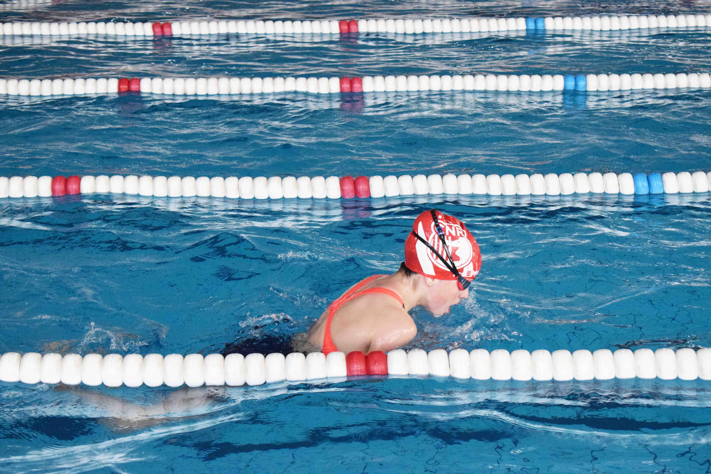 Última jornada de lliga catalana per als infantils de natació