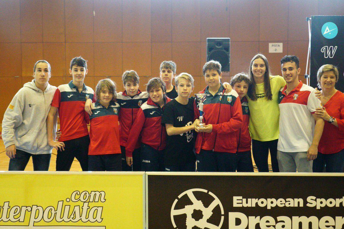 L'equip Aleví A i Infantil de waterpolo s'emporten la plata a la 3a fase del WP Kids Tour