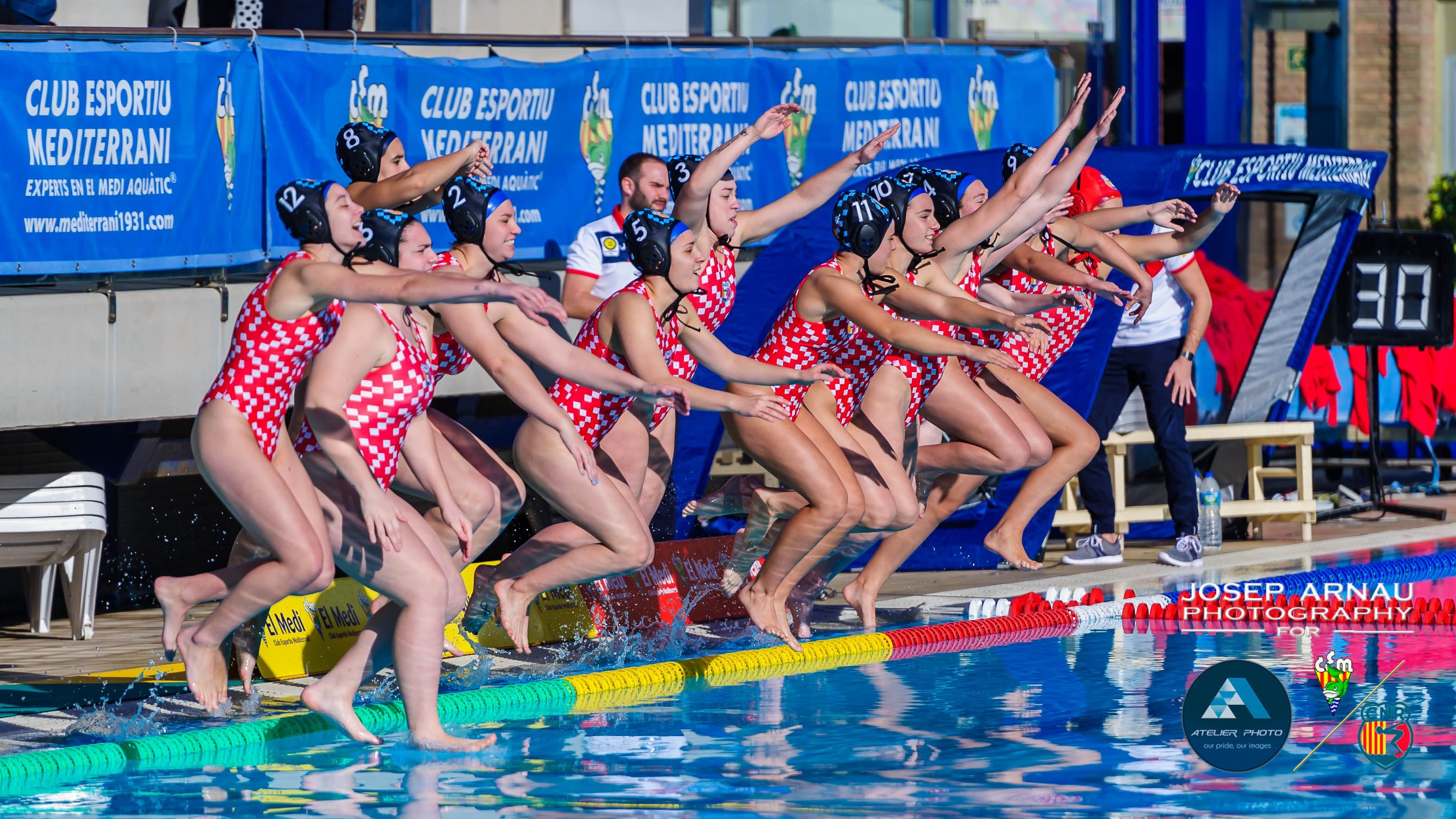 L'Absolut Femení de waterpolo tanca la Divisió d'Honor amb la segona millor posició de la història del Club