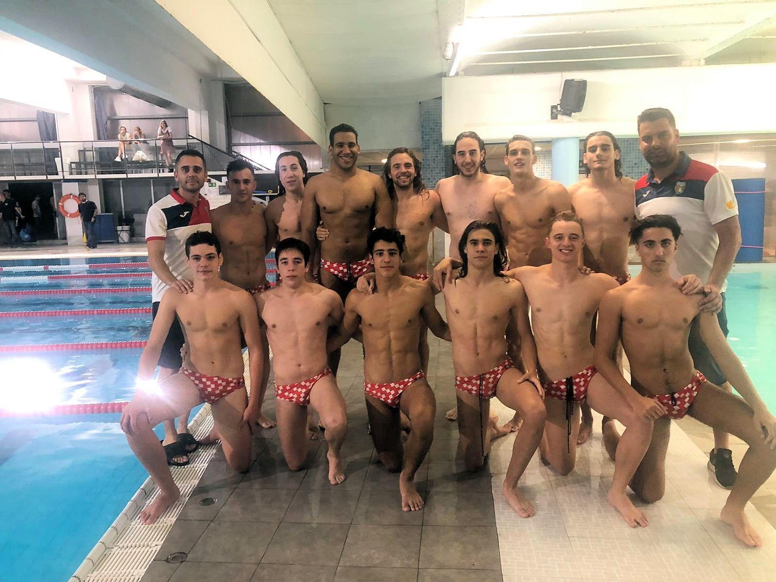 Un mes de juny de celebració per al waterpolo del Club Natació Rubí