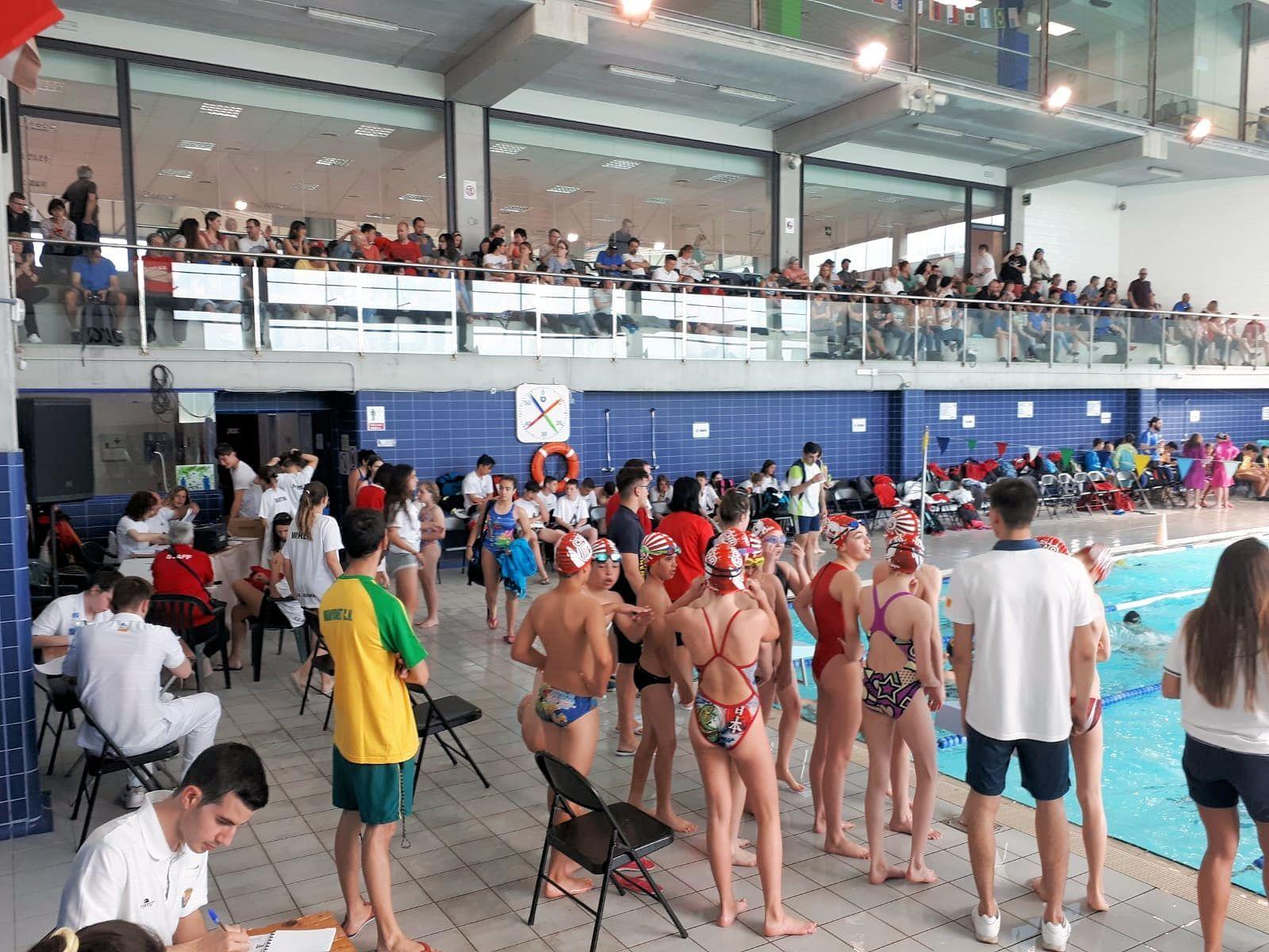 7a posició per l'equip aleví de natació a la Copa Catalana de grup D