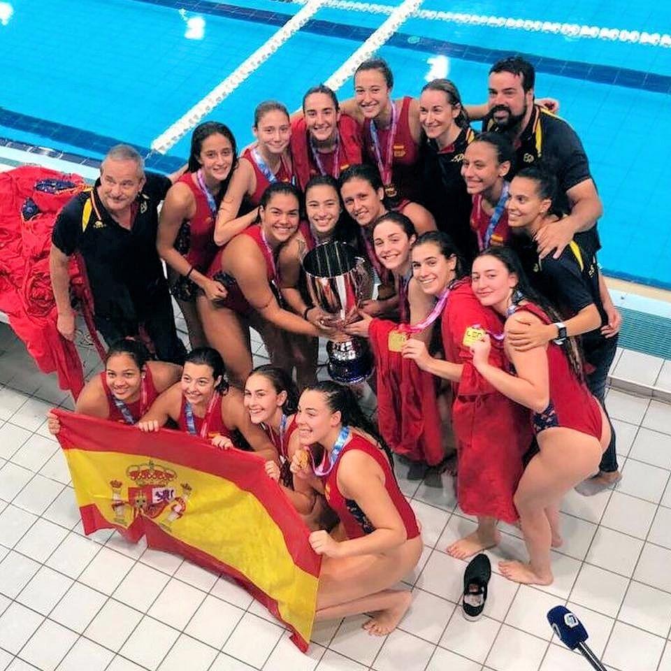 Elena Ruiz, campiona d'europa cadet amb la selecció espanyola