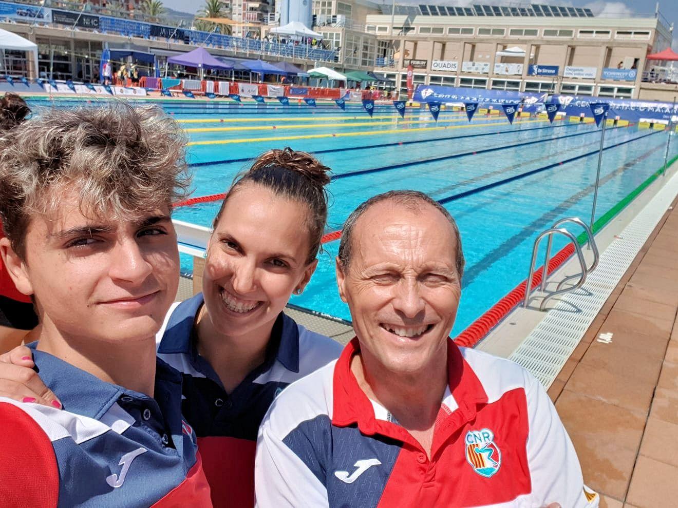 La secció de natació acaba la temporada amb bons resultats al Campionat de Catalunya d'Estiu Júnior OPEN