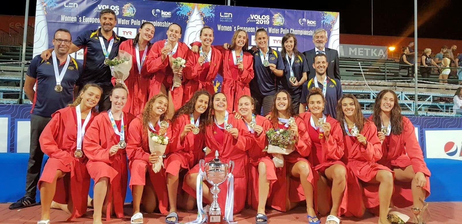 Ariadna Ruiz es proclama campiona d'Europa juvenil amb la selecció espanyola