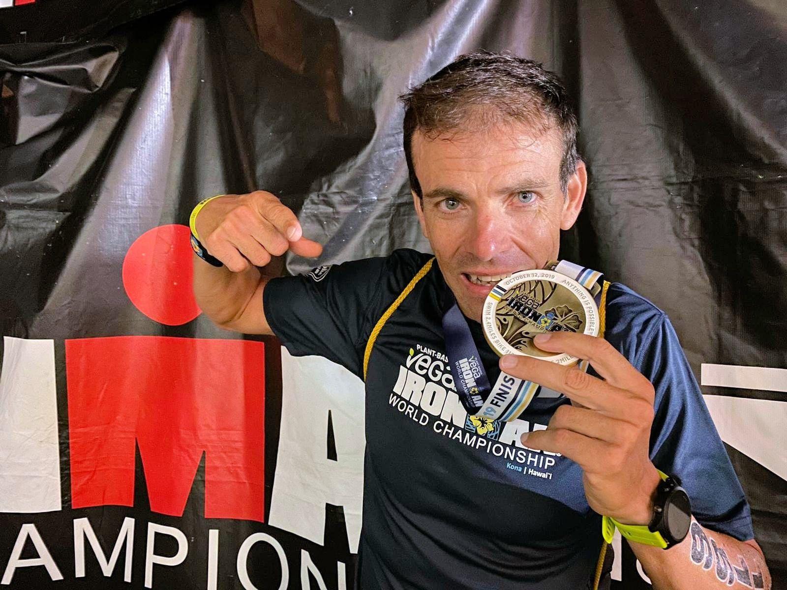 Fernando Garrocho finalitza el Campionat del Món IRONMAN a Kona, Hawaii
