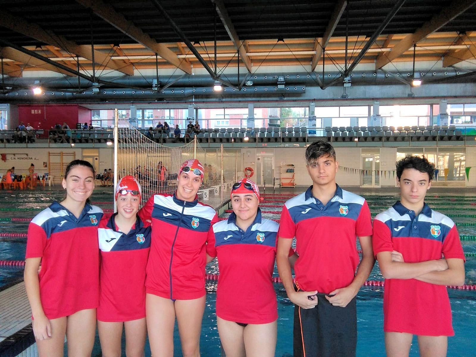 La secció de natació arrenca la temporada oficial a Manresa i Sant Esteve Sesrovires