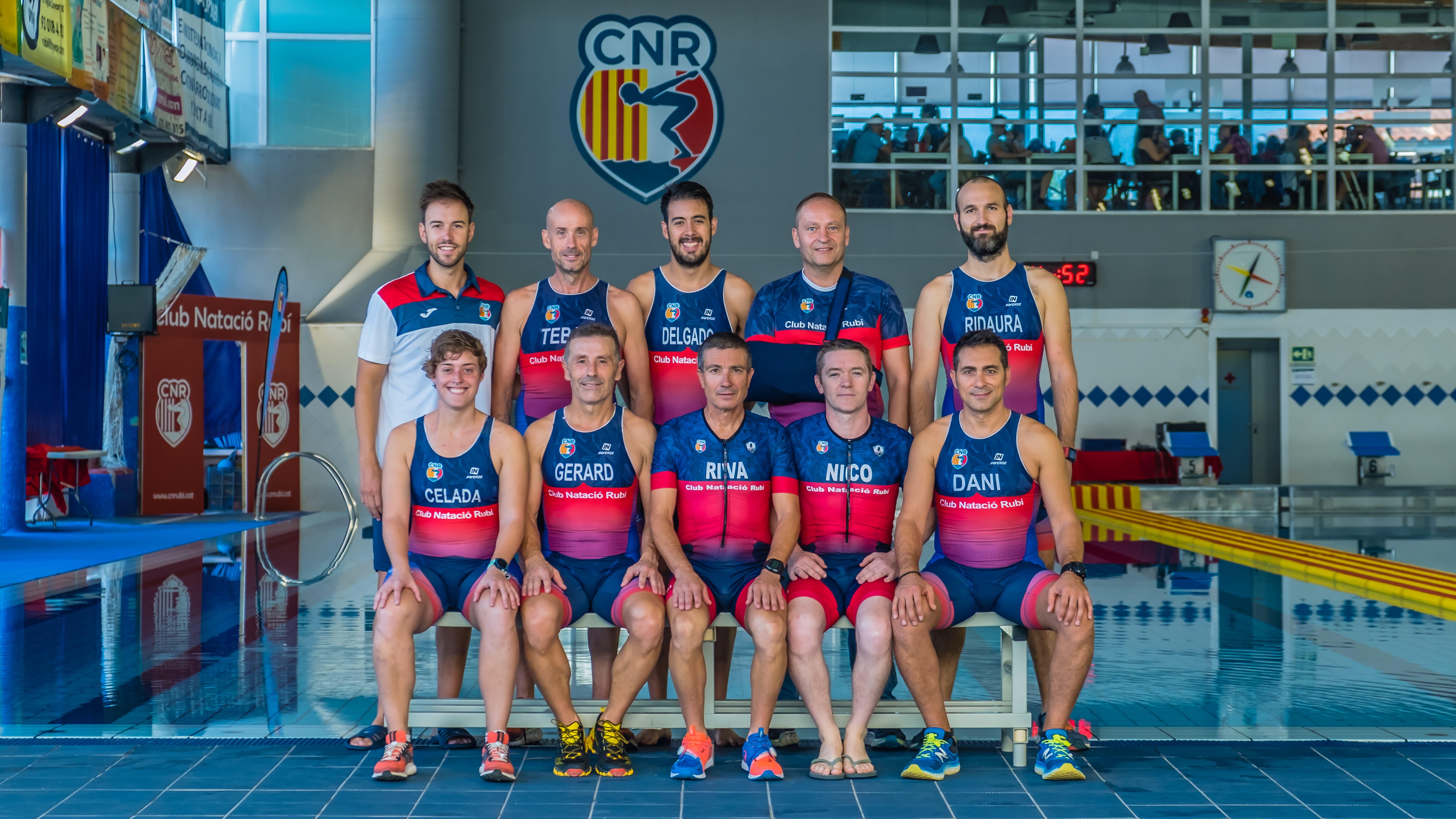 El Club Natació Rubí, 22è millor club de triatló de Catalunya la temporada 2018/2019 segons la Federació Catalana de Triatló