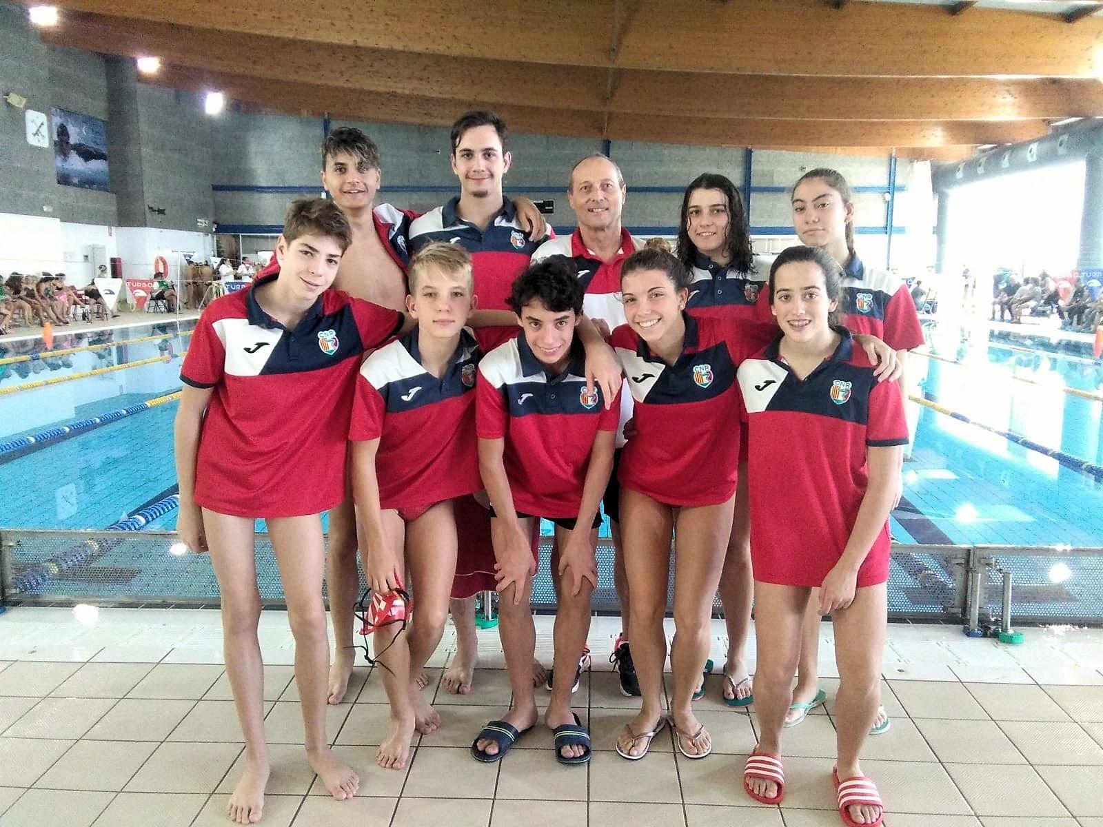 Intens cap de setmana de natació amb les primeres jornades de lliga catalana