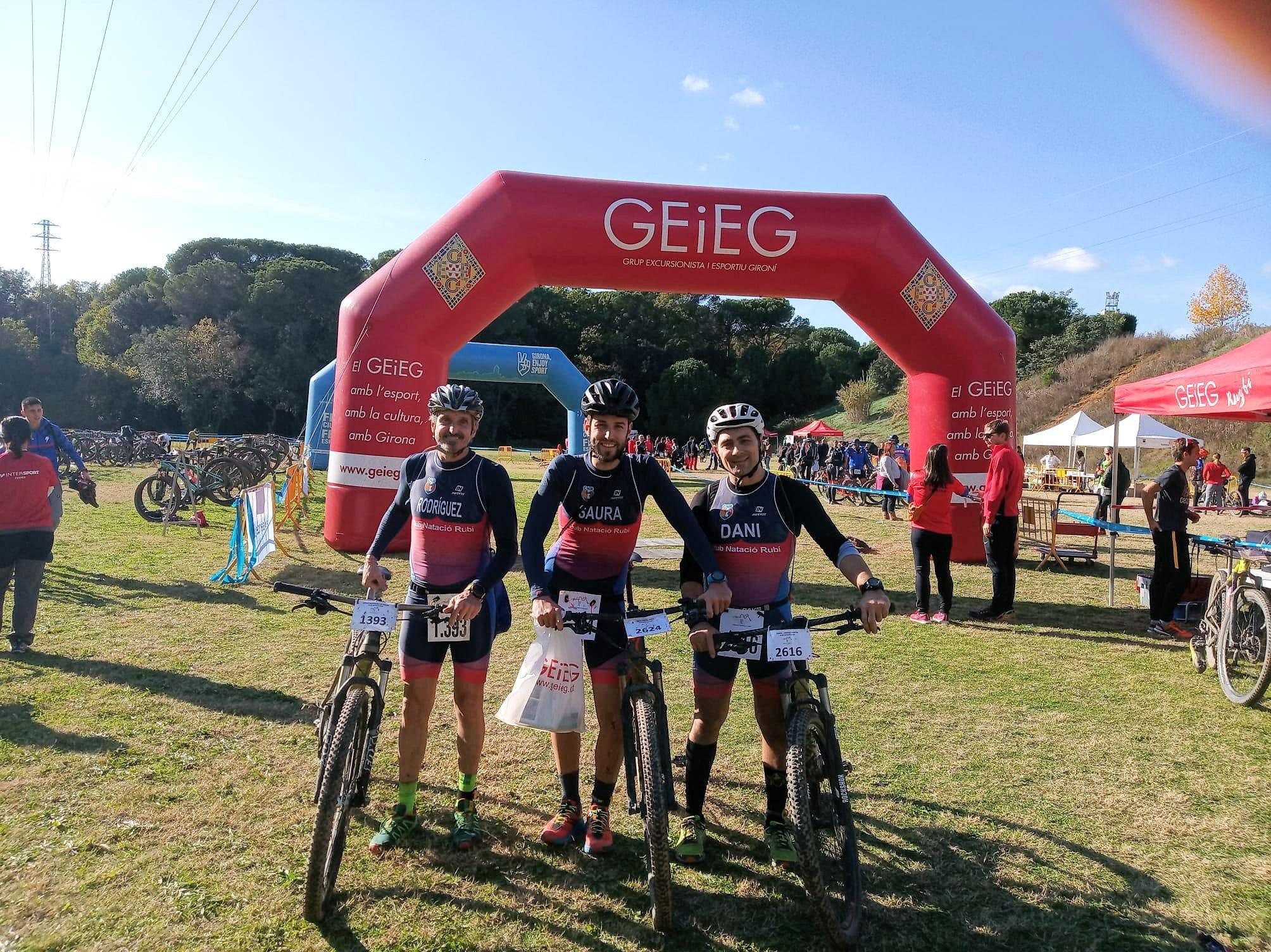 Arriba l'equador de la lliga i la copa de Duatló de Muntanya per l'equip de triatló