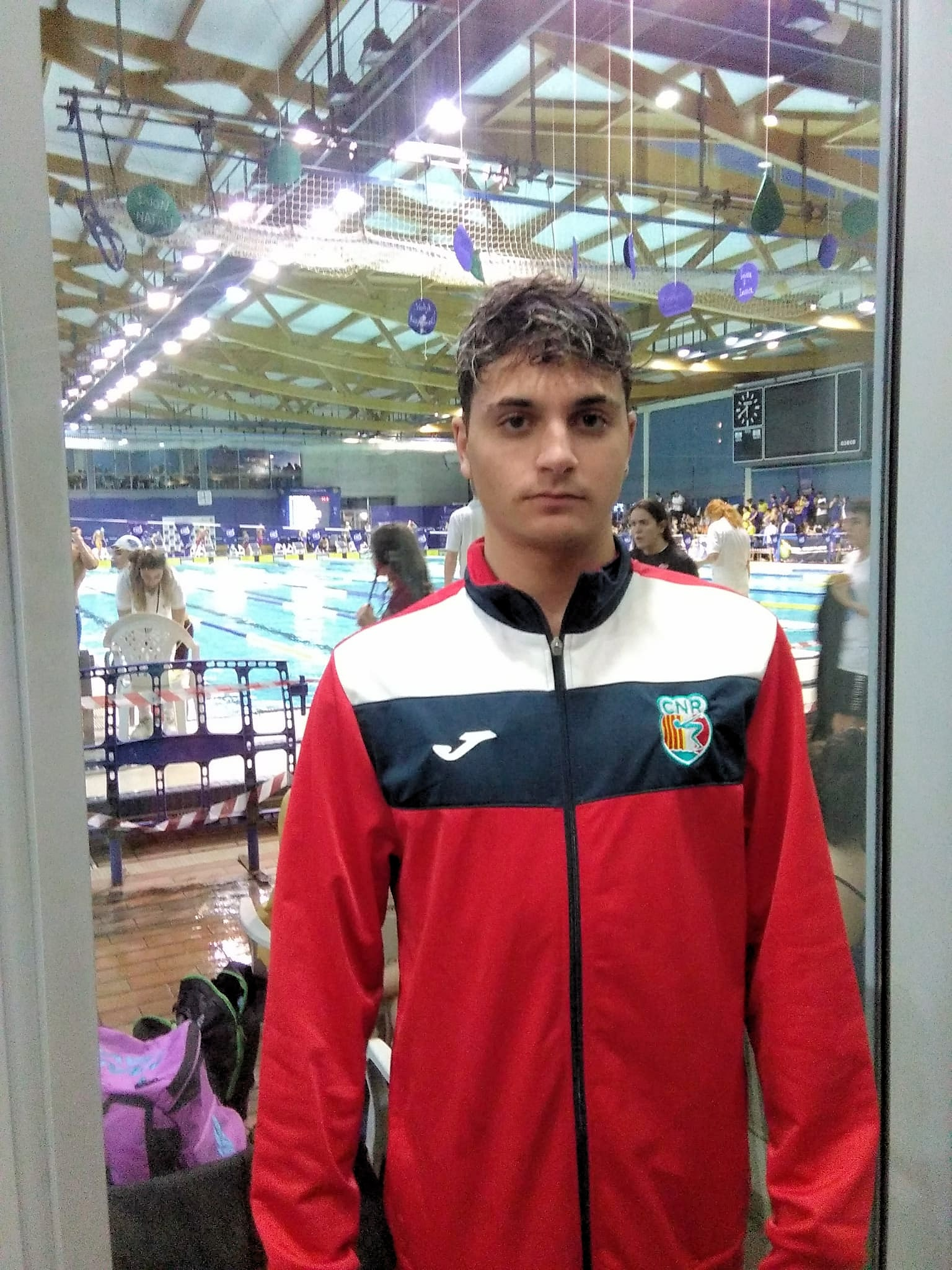 Alejandro Carrasco, representant del Club en el Campionat de Catalunya d'Hivern de natació Infantil i Júnior