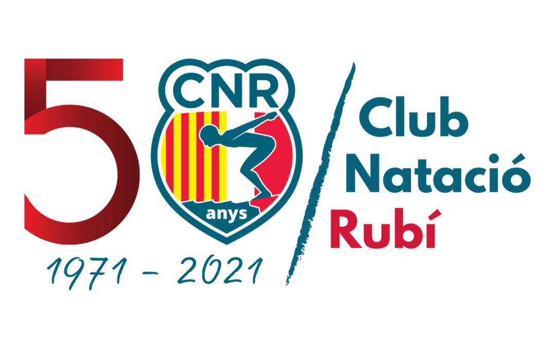 El Club Natació Rubí farà 50 anys d'història aquest 2021